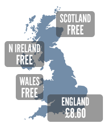 Free prescriptions outside the UK