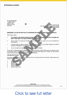 Claiming letter template for claiming back ppi for Martin lewis ppi claim form template